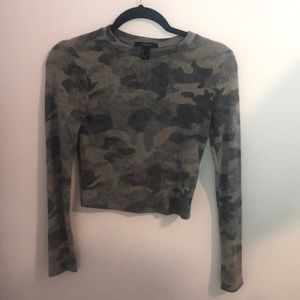 Forever 21 Camo Crop